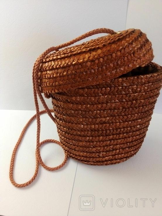 Плетёная сумка, фото №5