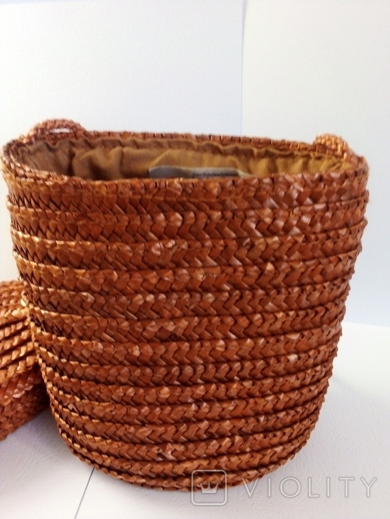 Плетёная сумка, фото №7