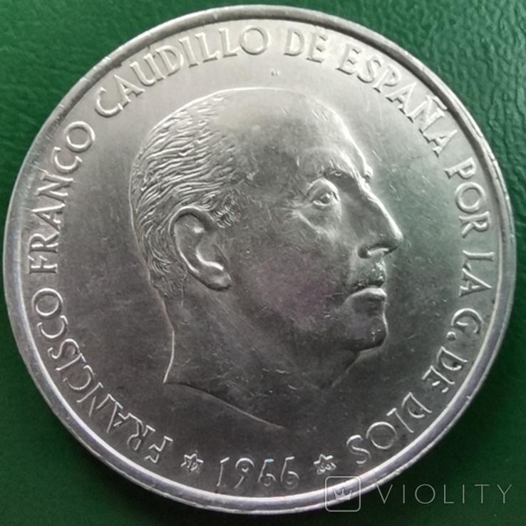 100 песет 1966 г. Испания, фото №3