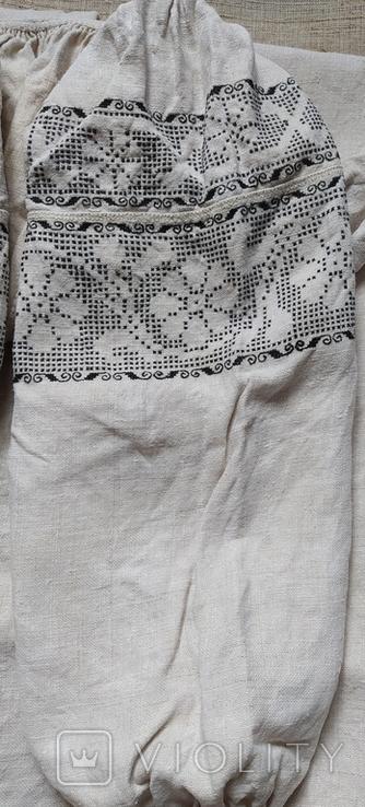 Сорочка домотканая., фото №3