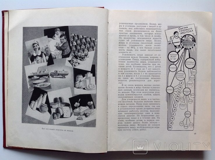 1962 Молочная пища., фото №10