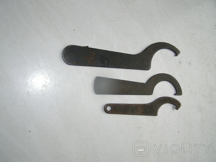 Ключи 3 штуки., фото №2