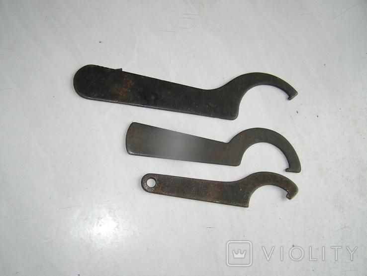 Ключи 3 штуки., фото №3