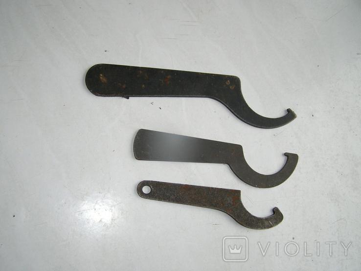 Ключи 3 штуки., фото №4
