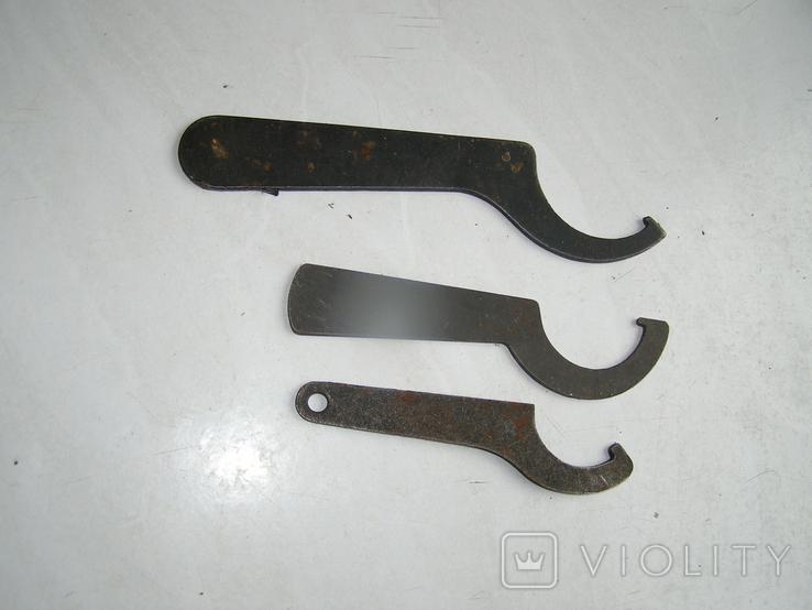 Ключи 3 штуки., фото №5