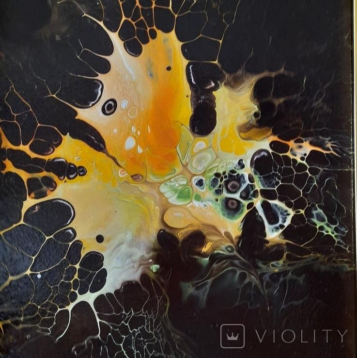 Картина/ живопис/ абстракція Fluid Art #1 acrylic, фото №9
