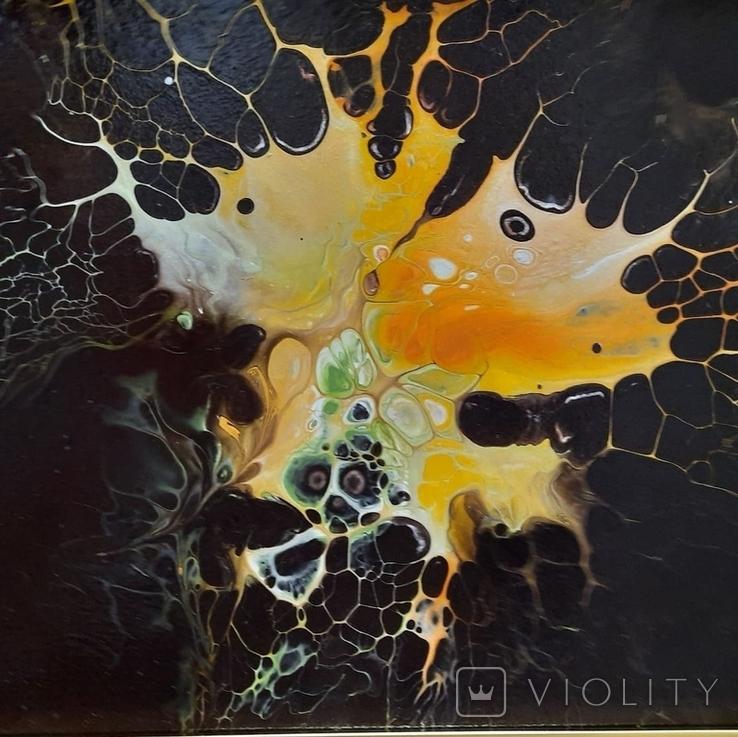 Картина/ живопис/ абстракція Fluid Art #1 acrylic, фото №10