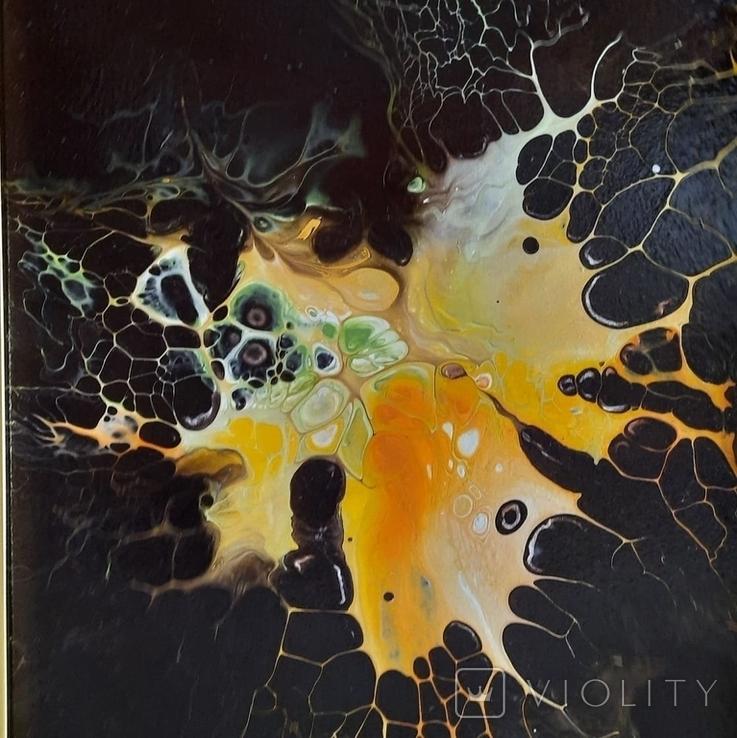 Картина/ живопис/ абстракція Fluid Art #1 acrylic, фото №11