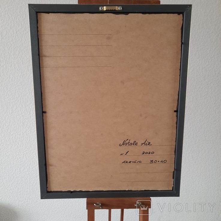 Картина/ живопис/ абстракція Fluid Art #1 acrylic, фото №13
