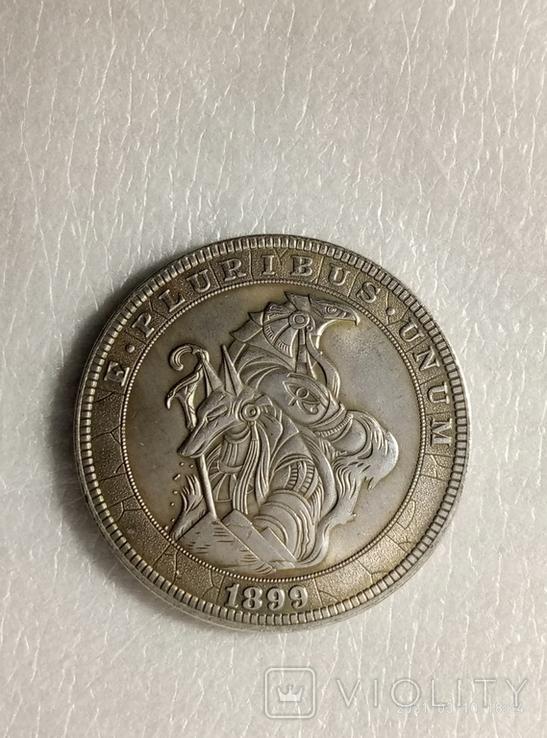 1 доллар США Хобо никель z224копия, фото №2