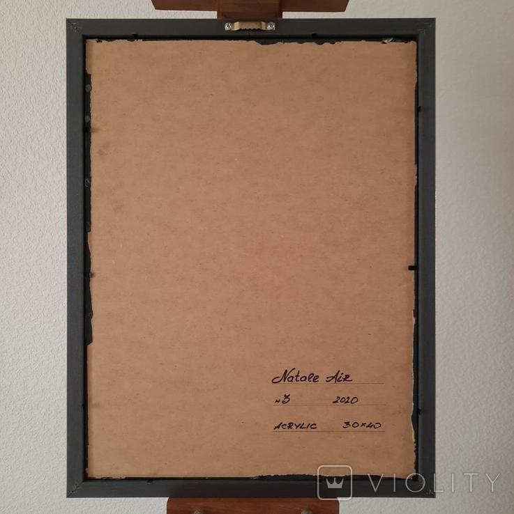 Картина/ живопис/ абстракція Fluid Art #3 acrylic, фото №13