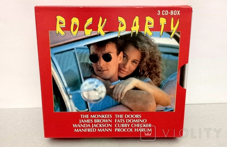 ROCK PARTY. 3 CD-BOX., фото №2