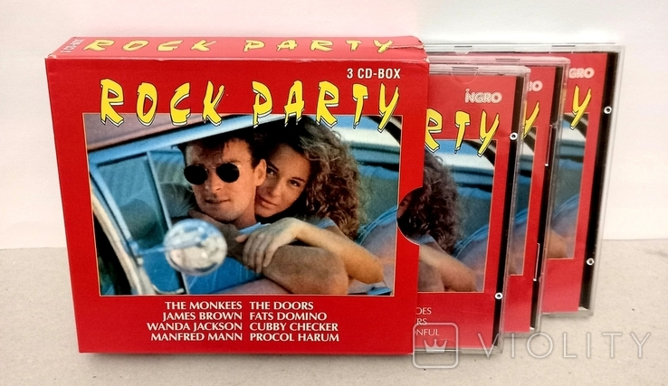 ROCK PARTY. 3 CD-BOX., фото №4