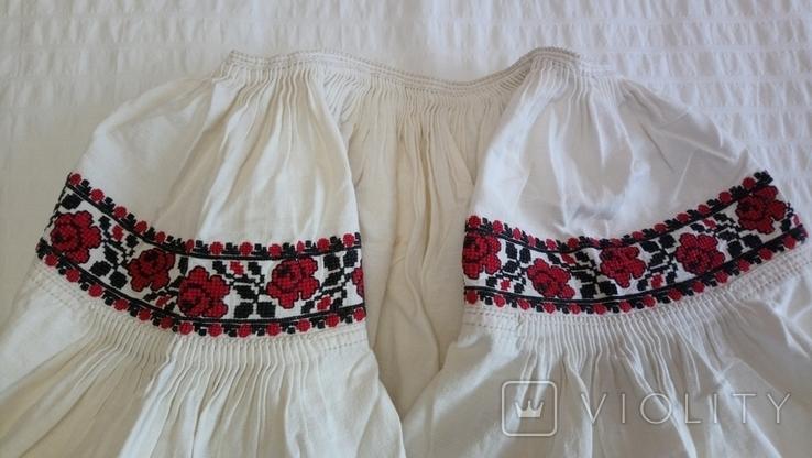 Сорочка дівоча з Черкащини, на льоні, фото №9