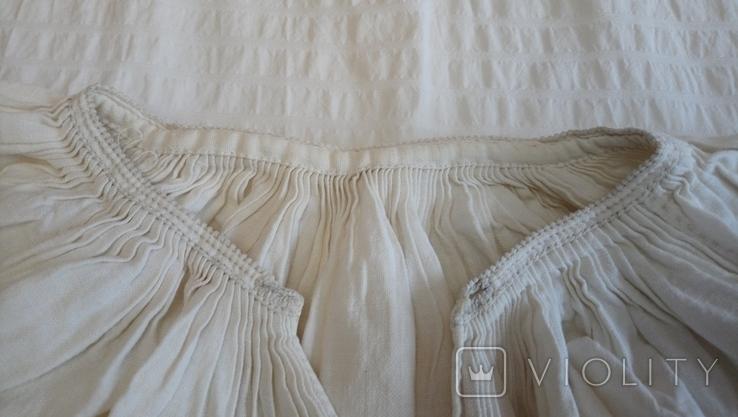 Сорочка дівоча з Черкащини, на льоні, фото №10