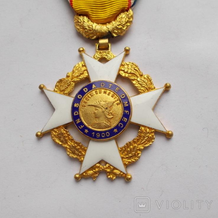 Франция. Крест Почета для унтер офицеров 1900 г., фото №3