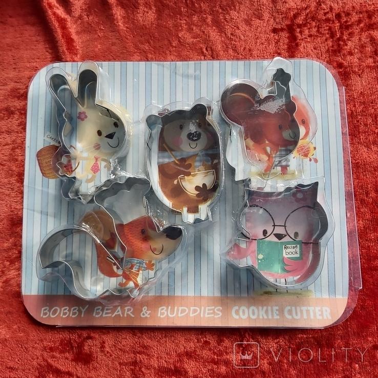 Кулинарные формы для детского печенья,пряников.Индия.Новые., фото №3