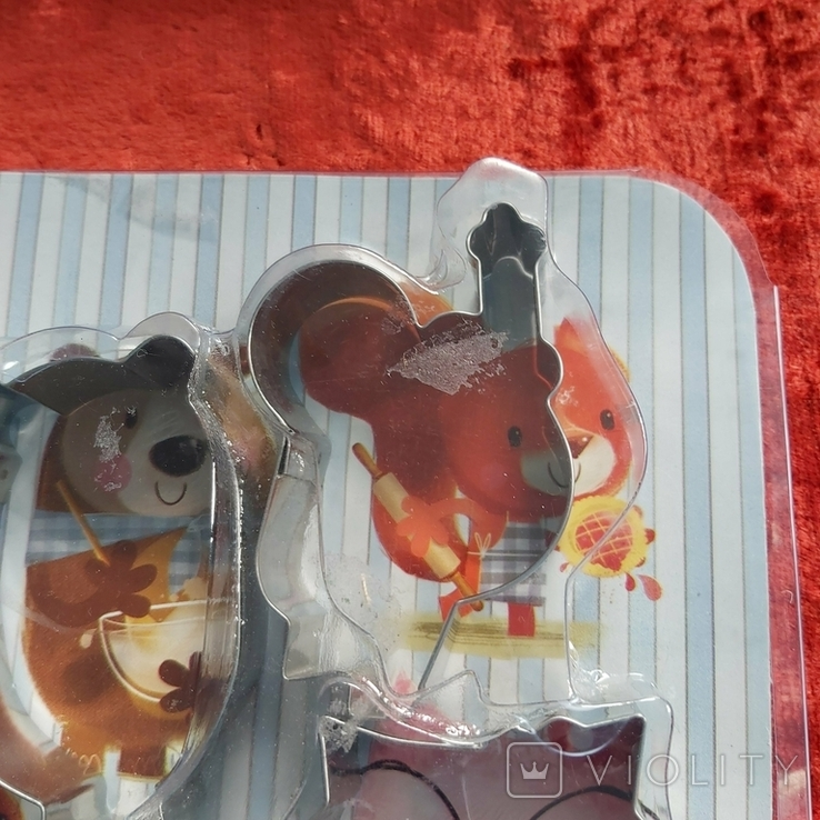 Кулинарные формы для детского печенья,пряников.Индия.Новые., фото №6