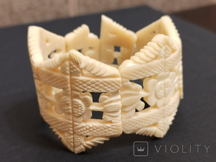 Браслет кость на резинке, фото №2