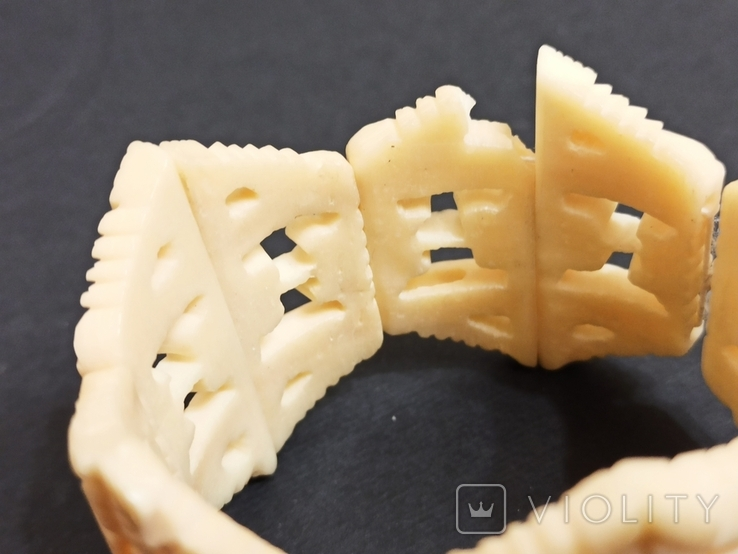 Браслет кость на резинке, фото №6