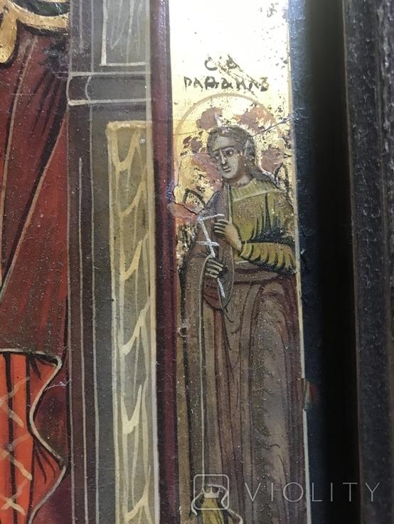Икона Благовещение в киоте., фото №10