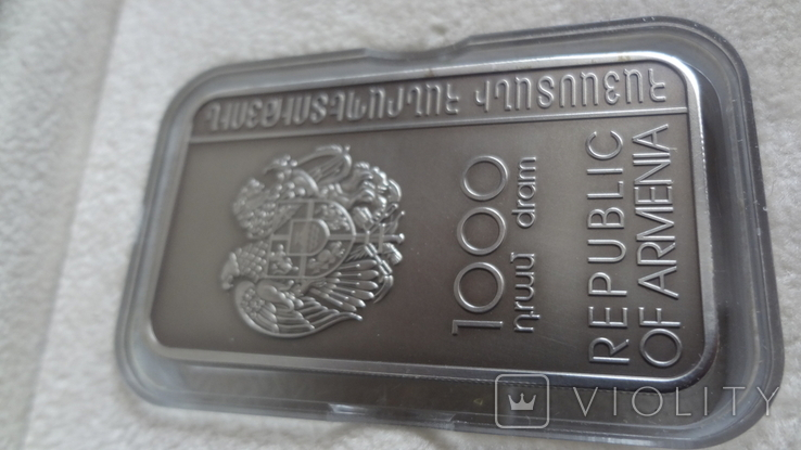 1000 драм 2011 Армения Хачкар Православная Армения тираж 2500 серебро, фото №6