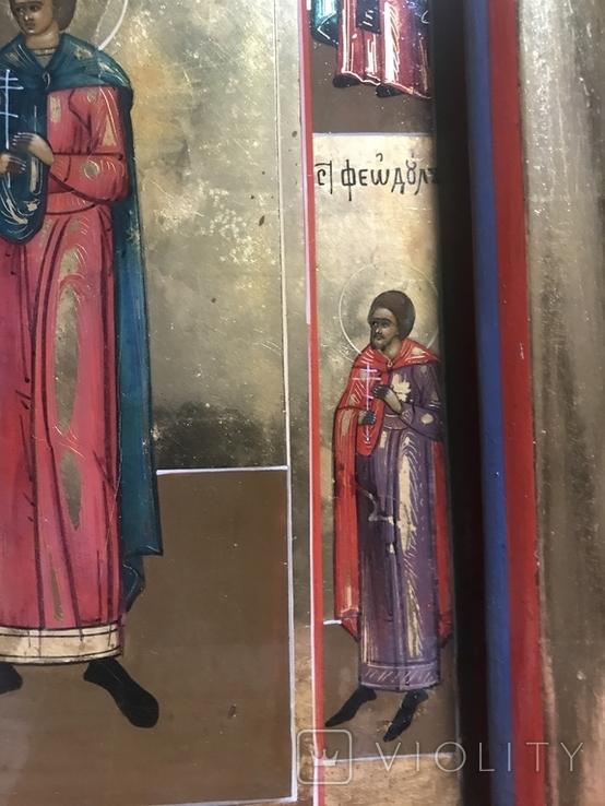 Икона четырёхчастная. 19 век, фото №12