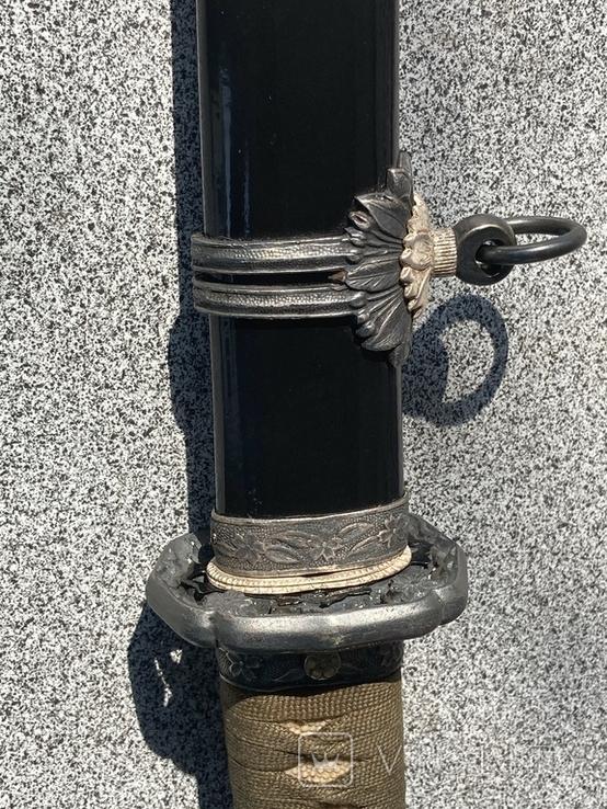 Син - гунто японский меч времён WWll, фото №4