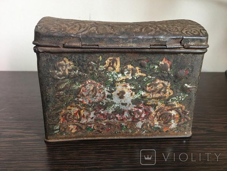 Коробка для чая. Товарищество чайной торговли В. Высоцкий и К Москва, фото №3