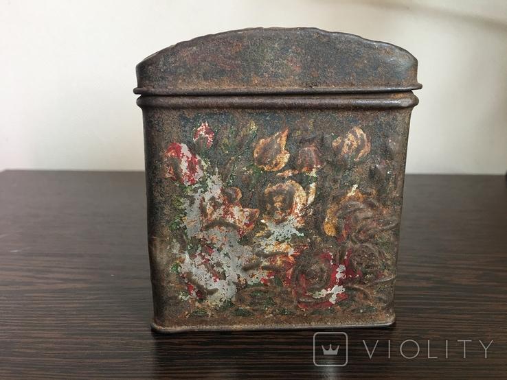 Коробка для чая. Товарищество чайной торговли В. Высоцкий и К Москва, фото №4