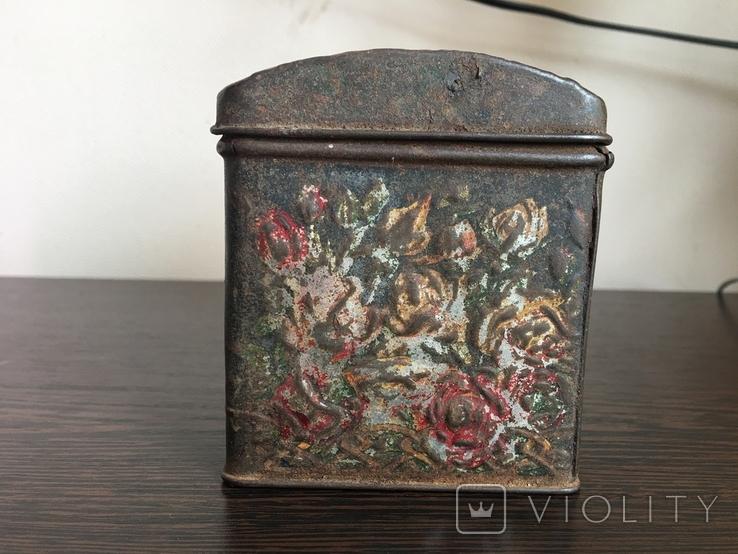 Коробка для чая. Товарищество чайной торговли В. Высоцкий и К Москва, фото №6