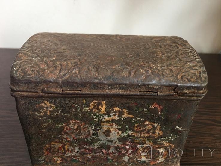 Коробка для чая. Товарищество чайной торговли В. Высоцкий и К Москва, фото №8