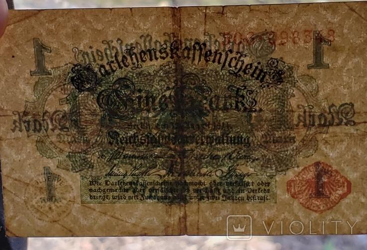 1 Марка 1914 год Германия, фото №5