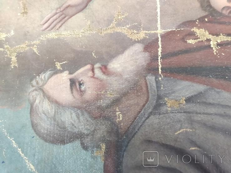 Икона сюжетная. 61х49., фото №4
