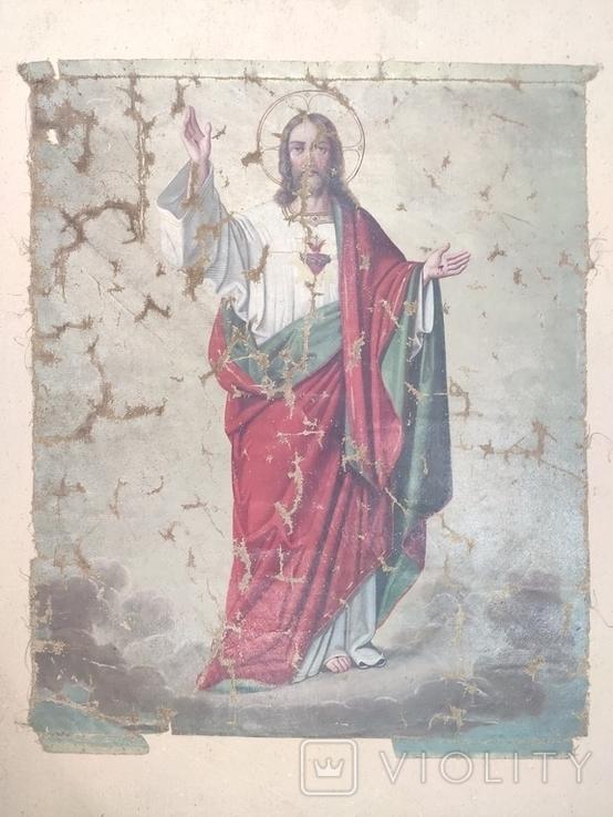Икона сюжетная. 61х49., фото №11