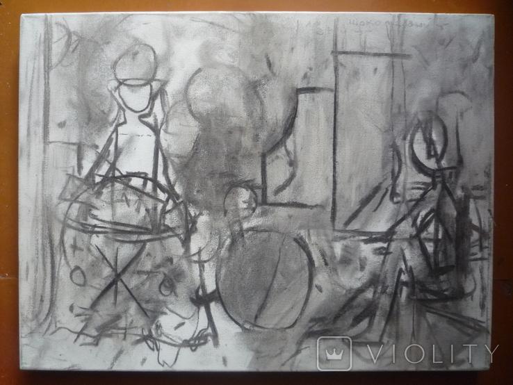 Миски-Оглу В.Н. Х.,м. 30х40, фото №2