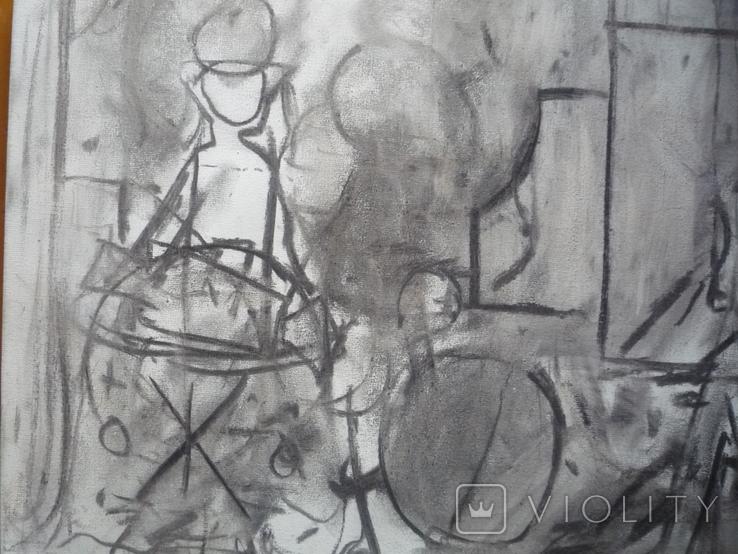 Миски-Оглу В.Н. Х.,м. 30х40, фото №5