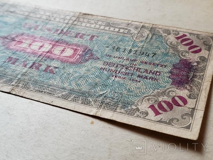 HUNDRED 100 MARK 1945 год, фото №5