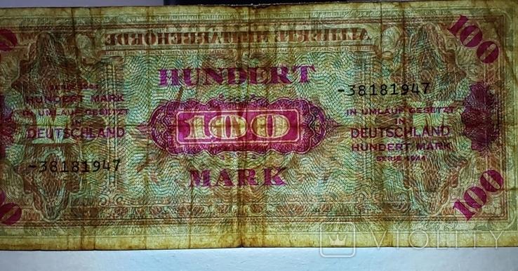HUNDRED 100 MARK 1945 год, фото №7