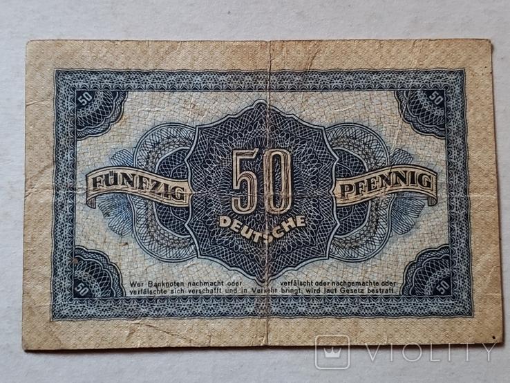 50 PFENNIG 1948 год, фото №2