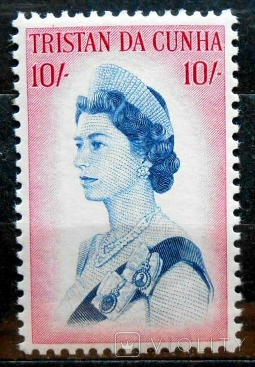 1967 г. Тристан де Кунья 10 шиллингов (**), фото №2