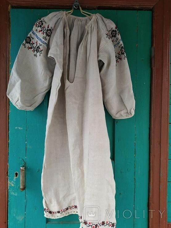 Вышиванка старинная. Черниговщина., фото №2