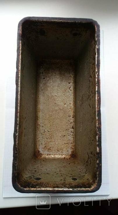 Форма для выпички хлеба кирпичика СССР 1960-ые года, фото №3