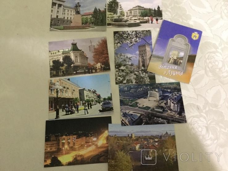 Комплект листівок Вітання з Луцька, фото №5