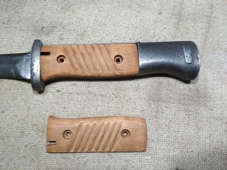 Накладки на штык нож К98 копия, фото №2