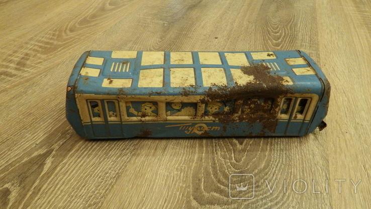 Жестяной автобус Турист., фото №3