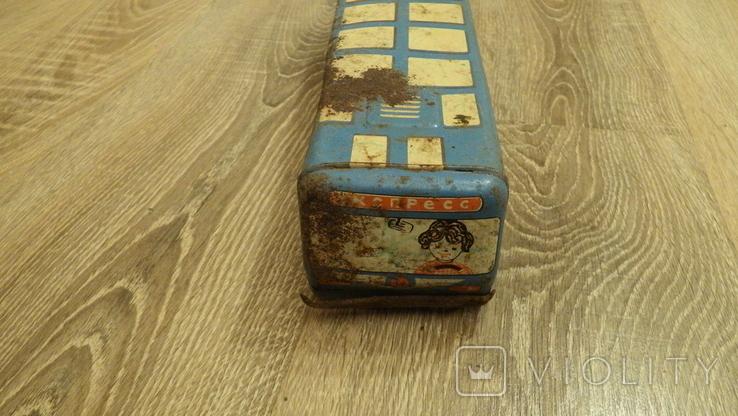 Жестяной автобус Турист., фото №5