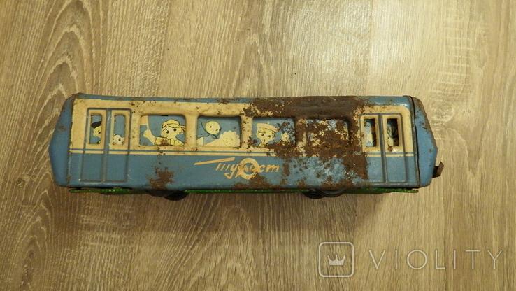 Жестяной автобус Турист., фото №9