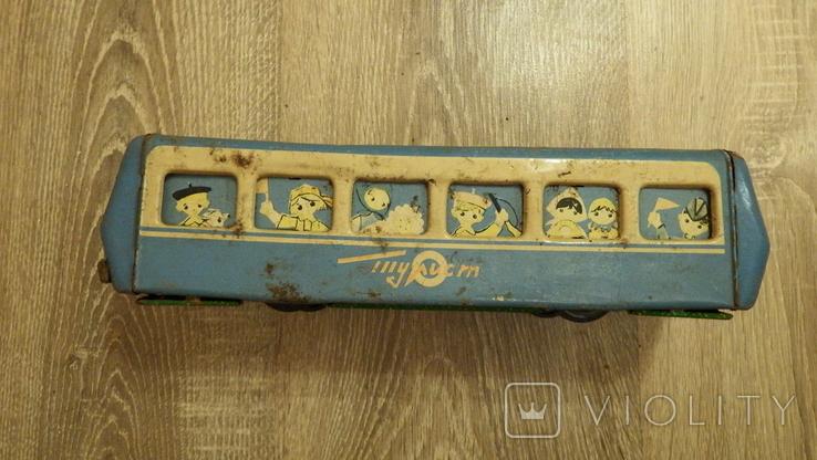 Жестяной автобус Турист., фото №10