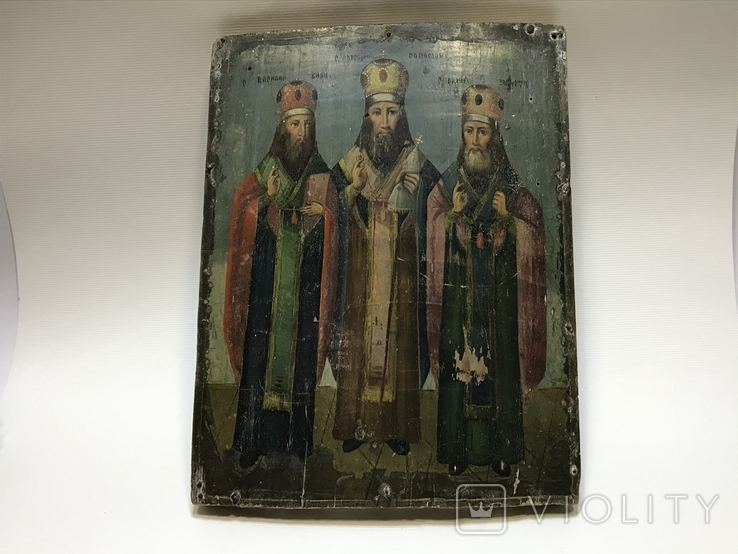 Икона Три святителя, фото №2